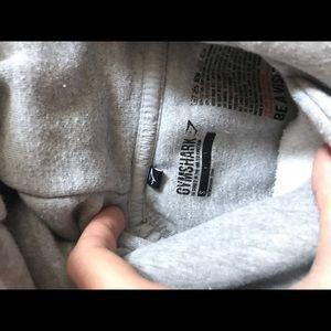 Gym shark Women's gray hoodie size small